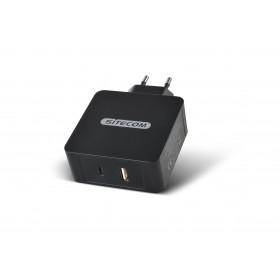 Sitecom CH-012 Caricabatterie per dispositivi mobili Interno Nero