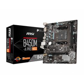 MSI B450M-A PRO MAX scheda madre Presa AM4 Micro ATX AMD B450