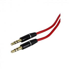 nuovaVideosuono 2/15 cavo audio 1,4 m 3.5mm Nero, Rosso