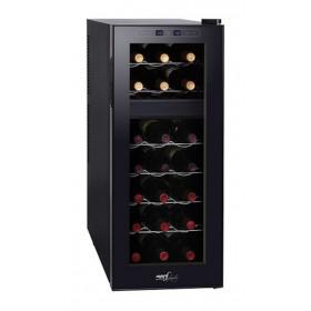 Melchioni Vermentino Dual 21 cantina vino Libera installazione Nero 21 bottiglia/bottiglie Cantinetta termoelettrica