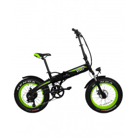 """Vivobike VF21 Nero, Verde Alluminio 50,8 cm (20"""") Ioni di Litio 26 kg"""