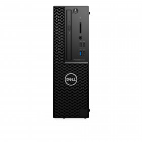 DELL Precision 3431 Intel Xeon E 16 GB DDR4-SDRAM 256 GB SSD Nero SFF Stazione di lavoro
