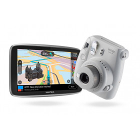 """TomTom GO ESSENTIAL + instax mini 9 navigatore 15,2 cm (6"""") Touch screen Palmare/Fisso Nero 262 g"""