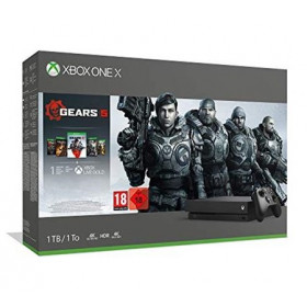 Microsoft Bundle Xbox One X Gears 5 (1 TB) Nero 1000 GB Wi-Fi