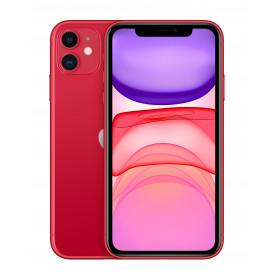"""Apple iPhone 11 15,5 cm (6.1"""") 64 GB Doppia SIM 4G Rosso iOS 13"""