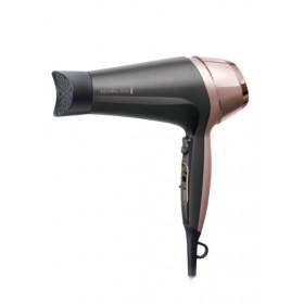 Remington D5706 asciuga capelli Nero, Oro rosa 2200 W