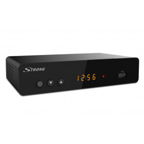 Strong SRT 8222 set-top box TV Terrestre Full HD Nero
