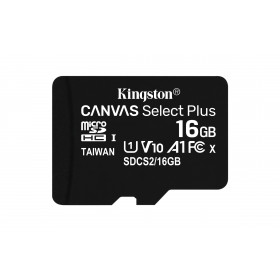 Kingston Technology Canvas Select Plus memoria flash 16 GB MicroSDHC Classe 10 UHS-I