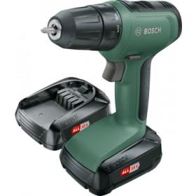 Bosch UniversalDrill 18 Senza chiave Nero, Verde 1450 Giri/min 1,19 kg