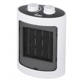 Ardes 4P07W stufetta elettrica Riscaldatore ambiente elettrico con ventilatore Interno Nero, Bianco 1500 W
