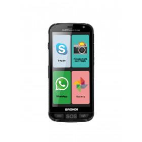 "Brondi Amico 12,7 cm (5"") 0,5 GB 44 GB Doppia SIM 4G Micro-USB Nero Android 8.1 2000 mAh"