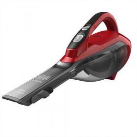 Black & Decker DVA315J aspirapolvere senza filo Senza sacchetto Ciliegio, Rosso