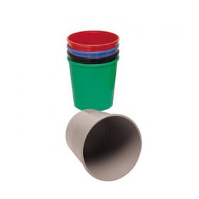 Methodo X851403 cestino per rifiuti Rotondo Nero Polipropilene (PP)