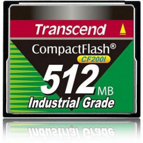 Transcend TS512MCF200I memoria flash 0,5 GB CompactFlash