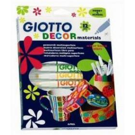 Giotto Decor Materials marcatore 12 pezzo(i)