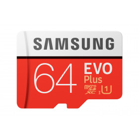 Samsung Evo Plus memoria flash 64 GB MicroSDXC Classe 10 UHS-I
