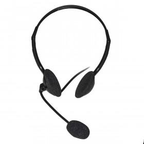 Link Accessori LKHS02 cuffia e auricolare Padiglione auricolare Nero