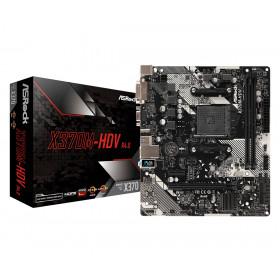 Asrock X370M-HDV R4.0 Presa AM4 micro ATX