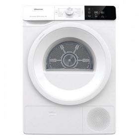 Hisense DHGE901 asciugatrice Libera installazione Caricamento frontale Bianco 9 kg A++