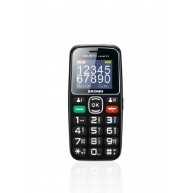 """Brondi Amico Unico 4,57 cm (1.8"""") Nero Telefono di livello base"""