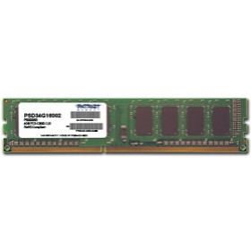 Patriot Memory 4GB PC3-12800 memoria DDR3 1600 MHz