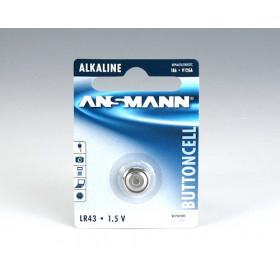 Ansmann Alkaline Battery LR 43 Alcalino 1.5V batteria non-ricaricabile