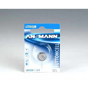 Ansmann Lithium CR 1220, 3 V Battery Ioni di Litio 3V batteria non-ricaricabile