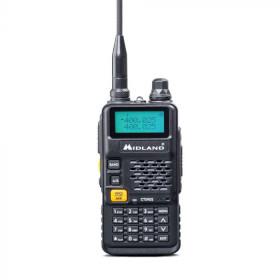 Midland CT590 S ricetrasmittente 128 canali VHF 114 - 146/ UHF 430 - 440 Nero