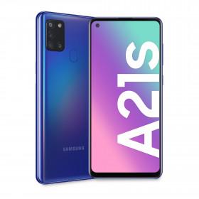 "Samsung Galaxy A21s SM-A217F/DSN 16,5 cm (6.5"") 3 GB 128 GB Doppia SIM 4G USB tipo-C Blu Android 10.0 5000 mAh"