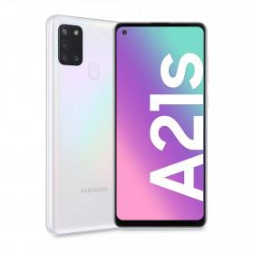"Samsung Galaxy A21s SM-A217F/DSN 16,5 cm (6.5"") 3 GB 128 GB Doppia SIM 4G USB tipo-C Bianco Android 10.0 5000 mAh"