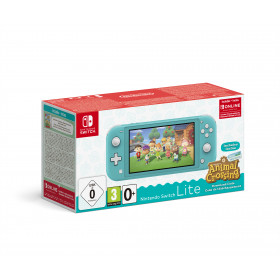 Nintendo Switch Lite (Turquoise) Animal Crossing: New Horizons Pack + NSO 3 months (Limited) console da gioco portatile