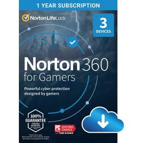 NortonLifeLock Norton 360 for Gamers Licenza base 1 licenza/e 3 anno/i