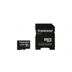 Transcend TS4GUSDHC10 memoria flash 4 GB MicroSDHC Classe 10