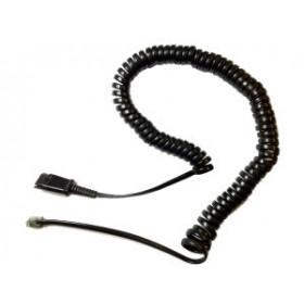 Plantronics U10P Nero cavo telefonico
