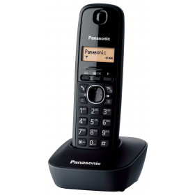 Panasonic KX-TG1611 Telefono DECT Nero Identificatore di chiamata
