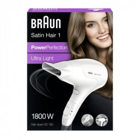 Braun Satin Hair HD 180 Bianco 1800 W