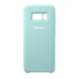 SILICONE COVER BLUE GALAXY S8