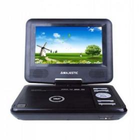 NEW MAJESTIC LETT.DVD PORT.7' DVX-166USB LCD 7' girevole, USB, SD, telecomando,tripla alimentazione