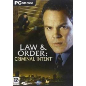 PC Law & Order: Criminal Intent