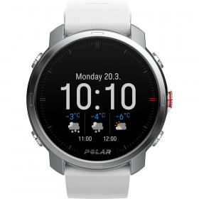 Smartwatch Polar GRIT X Bianco Orologio GPS Multisport con Cardiofrequenzimetro al polso Integrato Pronta Consegna