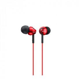 SONY CUFFIA MDR EX110LPR AURICOLARE auricolare In-Ear colore Red , 5:24.000hz, cavo 1,2 mt