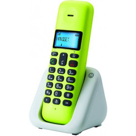 Telefono Cordless Motorola T301 Plus Lemon