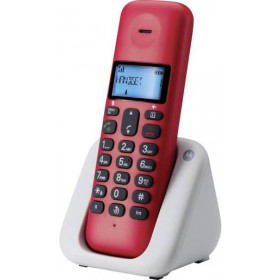 Telefono Cordless Motorola T301 Plus Red