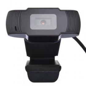 ENCORE WEBCAM HD 1280X720P A 30FPS CON MICROFONO, CAVO USB 2.0 LUNGO 1.5M, AUTOFOCUS, LENTE 4P